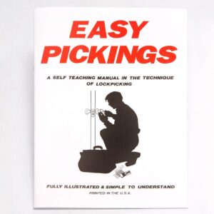 Easy Pickings Book: Lock Picking Guide