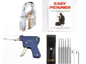 Pick My Lock's - Lock Picking Starter Kit Deluxe