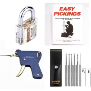 Pick My Lock's - Lock Picking Starter Kit Deluxe