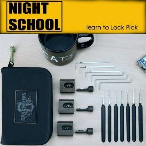 Sparrows Night School Tuxedo + Edition | Pick My Lock