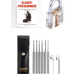 Pick My Lock's – Lock Picking Starter Kit Plus