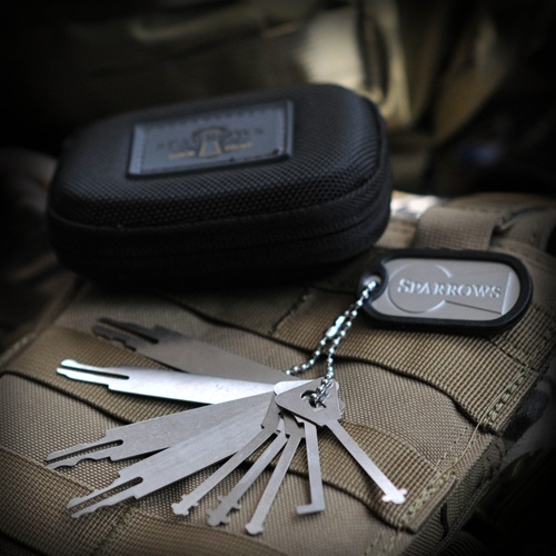 Sparrows Warded and Wafer Pick Set