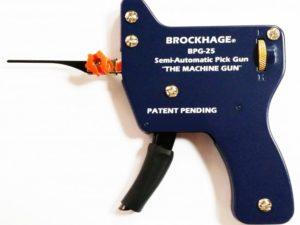 Brockhage Semi-Automatic Pick Gun | Pick My Lock