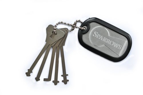 Sparrows Warded Keys | Pick My Lock