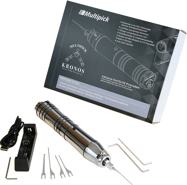 Multipick Kronos Electric Lock Pick Gun | Pick My Lock