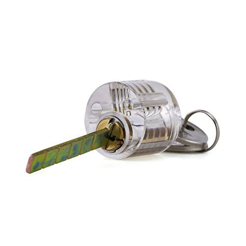Pick My Lock's Acrylic Practice Cylinder Lock