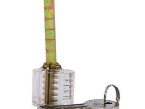 Pick My Lock's Acrylic Practice Cylinder Lock | Pick My Lock