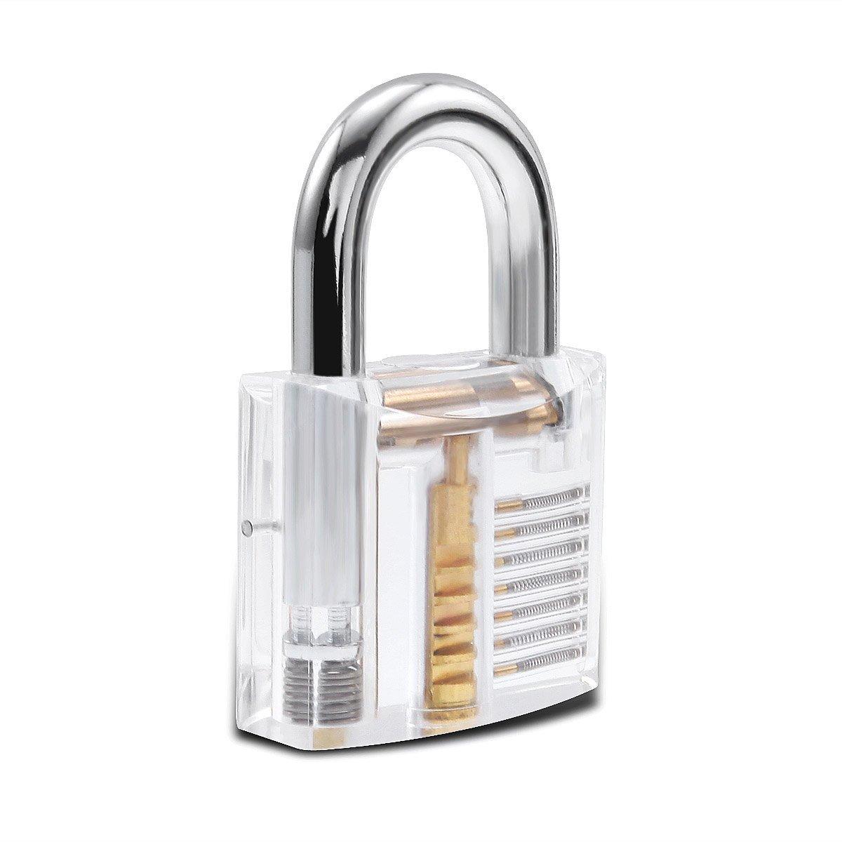 Pick My Lock Acrylic Practice Lock – Padlock