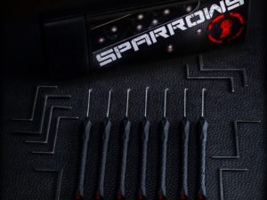 Sparrows Black Flag Dimple Picks | Pick My Lock