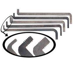Peterson Flat Five Serrated Tension Tool Set | Pick My Lock