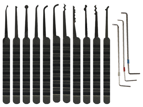 Southern Specialties 14 Piece Black Diamond Lock Pick Set | Pick My Lock
