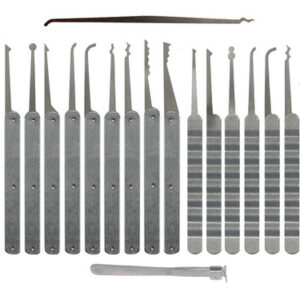 Southern Specialties 20 Piece Laminated Plain Handle Lock Pick Set | Pick My Lock
