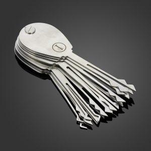Pick My Lock Folding Automotive Pick and Jiggler Set