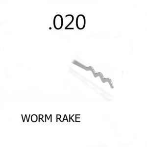 Sparrows Worm Rake .020 | Pick My Lock