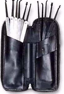 Majestic 16 Piece Spring Steel Lock Pick Set