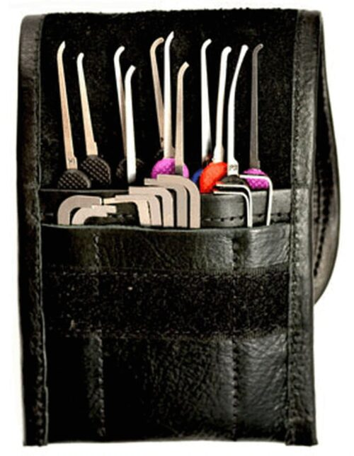 Peterson Happy Hooker GSP Pick Set - Leather | Pick My Lock